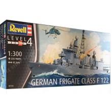 GERMAN FRIGATE CLASS F 122 1:300