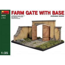 FARM GATE WITH BASE