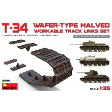 1:35 T-34 WAFER-TYPE HALVED WORKABLE TRACK LINKS SET