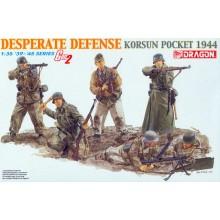 DESPERATE DEFENSE KORSUN POCKET 1944
