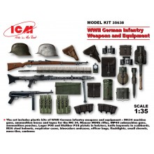 1:35 WWII German Infantry Weapons and Equipment