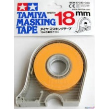 Masking Tape w/ dispenser 18mm TAMIYA