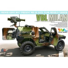 1:35 French Army Anti Tank Missile Carrier PANHARD VBL milan