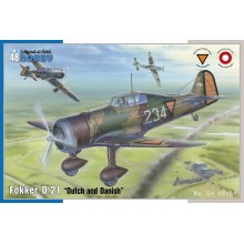 1:48 Fokker D.21 'Dutch and Dannish'