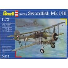 1:72 FAIREY SWORDFISH MK.I:III