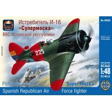 Polikarpov I-16 Type 10 'Super Mosca' 1:48