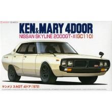 1:24 KEN & MARY - NISSAN SKYLINE 2000GT-X (GC110)
