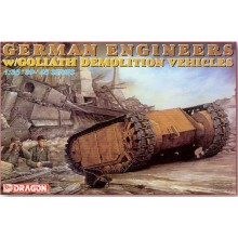 1:35 German engineers w/Goliath Demolition vehicles
