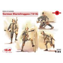 1:35 GERMAN STURMTRUPPEN 4 FIGRES (1918)