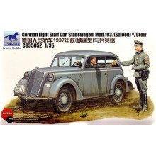 "German Light Staff Car ""Stabswagen"" 1937"