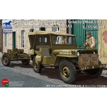 US GPW 4x4 Light Utility Truck w/ 37mm Anti-Tank Gun M3A1