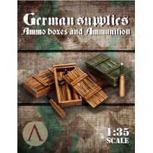 GERMAN SUPPLIES - AMMO BOXES AND AMMUNITION 2 75mm PANTHER