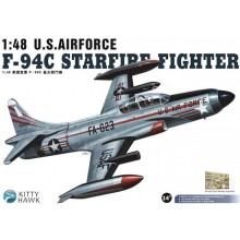 1:48 U.S. AIRFORCE F-94C STARFIRE FIGHTER