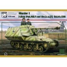 1:35 Sdkfz135-1 7.5cm Marder I Lorraine