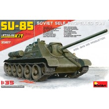 1:35 SU-85 SOVIET SELF-PROPELLED GUN. INTERIOR KIT