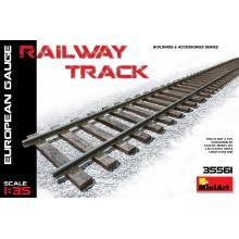 1:35 RAILWAY TRACK. EUROPEAN GAUGE