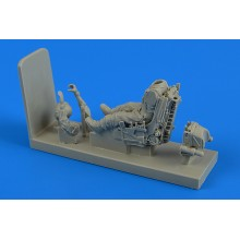 1:48 Soviet Pilot with ejection seat f.SU-22/ Su-25