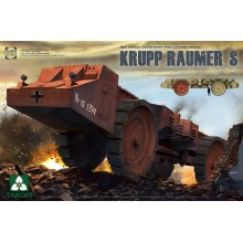 1:35 WWII German Super Heavy Mine Cleaning Vehicle Krupp Raumer S