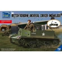 1:35 British Airborne Universal Carrier Mk.III con Welbike Mk.2 (limited Edition)