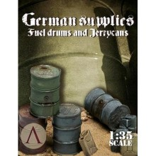 1:35 GERMAN SUPPLIES - FUEL DRUMS AND JERRYCANS