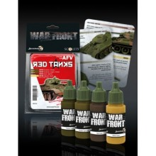 RED ARMY TANKS PAINT SET