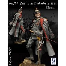 'PAUL VON HINDERBURG, 1914-1918'