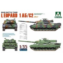 1:35 Main Battle Tank Leopard 1 A5/C2 2