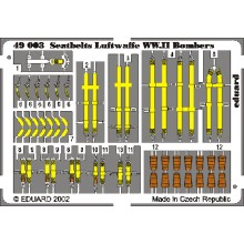 Seatbelts Luftwaffe WWII Bombers 1/48