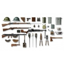 1:35 WWI FRENCH INFANTRY WEAPON AND EQUIPMENT