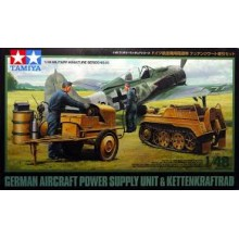 1:48 German Aircraft Power Supply Unit & Kettenkraftrad