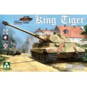1/35 WWII German Heavy Tank Sd.Kfz.182 King Tiger Porsche Turret w/interior