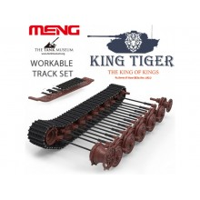 Meng Model 1/35 King Tiger Sd.Kfz.182 (WORKABLE TRACKS)