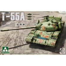 1:35 Russian Medium Tank T-55 A (3 in 1)