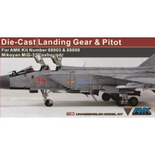1:48 Die-Cast Landing Gear and Pitot