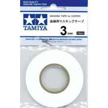 Tamiya Masking Tape for Curves 3 mm