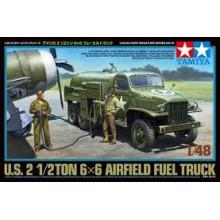 1:48 U.S. 2 1/2ton 6x6 Airfield Fuel Truck