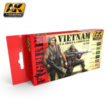 Vietnam U.S. Green & Camouflage