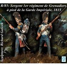 'Sergent 1er Rgt. Grenadiers à pied de la Garde Impériale'