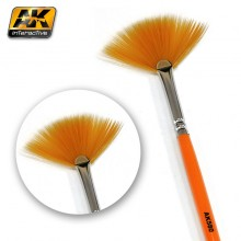 FAN SHAPE WEATHERING BRUSH
