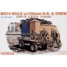 1:35 M274 Mule w/106mm RR & Crew