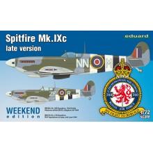 Spitfire Mk. IXc late version 1/72