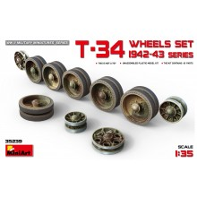 1:35 T-34 Wheels set. 1942-43 series