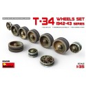1:35 T-34 Wheels set. 1942-43 series
