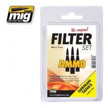 Set de filtros para Tanques Alemanes ( Sin Blister )
