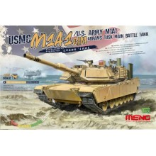 1:35 USMC M1A1 AIM / US Army M1A1 Abrams Tusk MBT