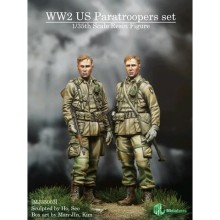 1/35 WWII US PARATROOPERS SET