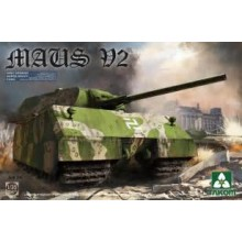 1:35 WWII German Super Heavy Tank Maus V2