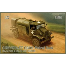 1:35 Chevrolet C60S Petrol Tank (No. 12 and 13 Cab versions)