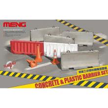1:35 Concrete & plastic barrier set