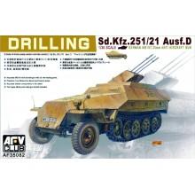 1:35 SDKFZ 251/21 DRILLING